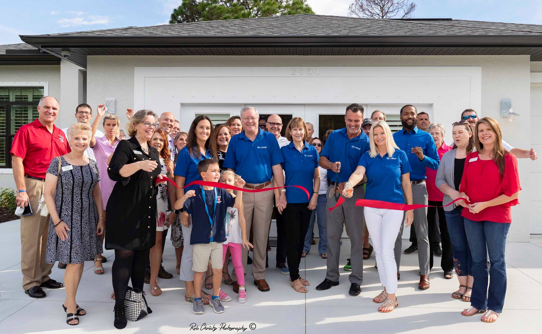 Ribon Cutting at our North Port Builders Model Home