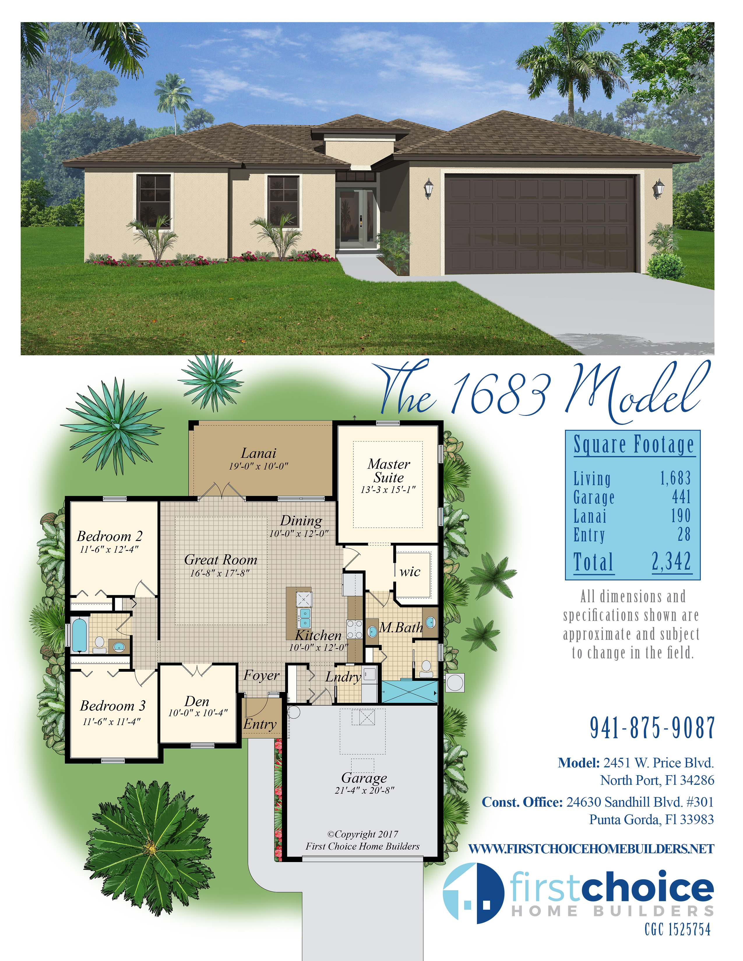 FLOORPLANS – First Choice Home Builders